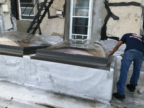 Skylight Replacement Three Brothers Roofing Contractor Local Skylight Roofing Repair Services Over 20 Years Of Experience Call Today Roof Repair Nj